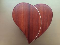 Heart Jewelry Box (for my Grand Daughter) - Woodworking creation by DLMcKirdy   WoodworkingWeb.com