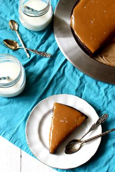 Wicked sweet kitchen: Salted dulce de leche mudcake