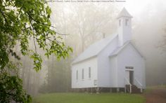Cades Cove Missionary Baptist Church, Great Smoky Mountains National Park, Tennessee