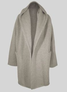 Peruvian-Connection-Alpaca-Blanket-Coat-NWT-hooded-soft-thick-M-L