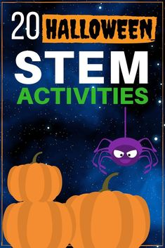 Twenty Halloween STEM activities for October! 20 Halloween STEM Activities including Halloween slime recipes, spooky science experiments, tricky and tasty treats, and monster themed activities. Halloween Stories For Kids, Halloween Activities For Kids, Halloween Projects, Halloween Science, Halloween Fun, Halloween Celebration, Stem Projects For Kids, Math Projects, Homeschool Blogs