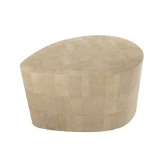 Liner Side Table in Shagreen