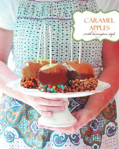 Gourmet Caramel Apples...Libby, this one's for you!