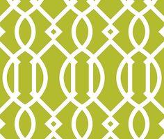 Trellis,modern,trendy,pattern,girly,green,white