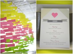 Modern Neon Wedding Ideas & Inspiration styling and props by Molly Cat Designs | Bridal Musings