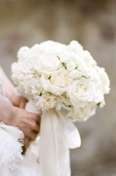 White bouquet for our bride in Bali.  Florals by Mindy Rice, design by Lisa Vorce, photos by Aaron Delesie