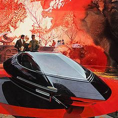 Syd Mead, High Museum, Retro Futuristic, Car Drawings, Science Fiction Art, Cool Sketches, Sci Fi Art, 3d Character, Character Concept
