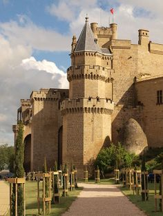 Castillo de Olite -  Olite is a town and municipality located in the province and autonomous community of Navarre, northern Spain.