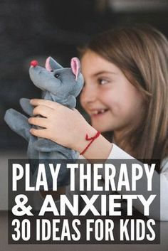 30 Play Therapy Activities for Kids | 30 simple therapeutic activities for children you can use in a counseling setting or at home to help a child express their emotions surrounding a trauma or ongoing feelings of anxiety. Perfect for toddlers, kids in preschool, school-aged kids, for tweens and teens, and kids with autism, ADHD, and anxiety, these activities offer a great way to teach healthy anger management and coping skills. #kidstherapy #anxiety #angermanagement #mentalhealth