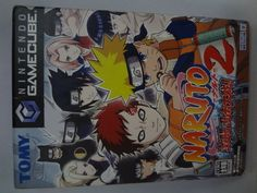 Japan game Nintendo GAME CUBE Naruto 2 TOMY Free Shipping Japanese anime  #TOMY