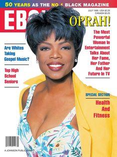 0PRAH WINFREY   EBONY JULY,1995 COVER