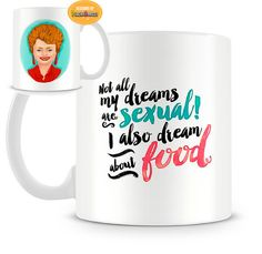The Golden Girls Blanche Devereaux Mug by PeachyApricot on Etsy