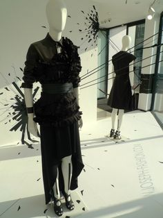 Joseph Black is the new Black windows, London - UK