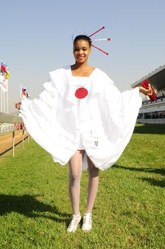 Sfiso Sabelo design at the Vodacom Durban July a few years ago