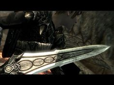 How about the best weapon in Dragonborn? Skyrim Gif, Skyrim Dragon, Skyrim Videos, Skyrim Swords, Skyrim Gameplay, Skyrim Tips And Tricks, Elder Scrolls Skyrim, Dragon Age Games, Game Info