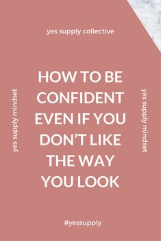 Would you like to improve your confidence and self esteem? You're not born with it. Self Confidence Tips, Confidence Boosters, Confidence Quotes, Confidence Building, Muscle Milk, Gain Muscle, How To Buil, Love Tips, No Way