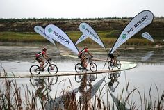 To enter and finish the Sani2C mountain bike race.