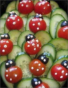 Cute Food, Good Food, Food Carving, Food Garnishes, Food Decoration, Food Crafts, Food Humor, Appetisers, Creative Food