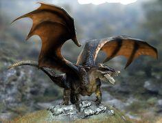 quick dragon test ravine by nebezial.deviantart.com on @deviantART