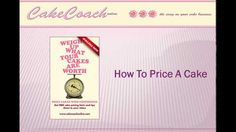 Cake pricing? Ever struggled and asked 'how to price a cake?' Get hints and tips from CakeCoachOnline - e course. Just released, brand new, best of all it's FREE.