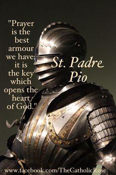 ~ St. Padre Pio..