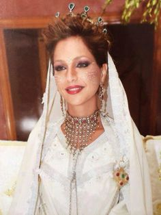 Princess lalla soukaina of Morocco during her wedding in 2014
