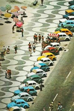 Copacabana Promenade by Robert Burle Marx