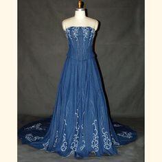 Denim Wedding Dresses
