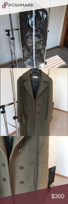 Whistles wool coat. My favorite coat, super quality  and design from famous London brand. Worn few times occasionally, excellent condition, like new. No issues! Whistles Jackets & Coats