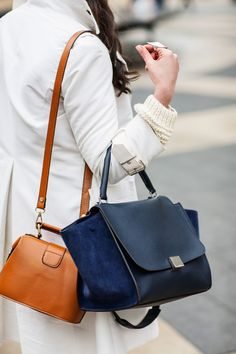 Celine trapeze and a small brown crossover