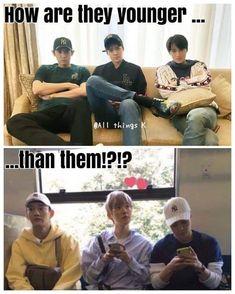 It's like the concept of every kpop group Kdrama Memes, Funny Kpop Memes, Blackpink Memes, K Pop, Baekhyun, Exo Ot12, Exo Chanbaek, Z Cam, Kim Minseok