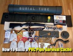 How To Build a PVC Pipe Survival Cache - SHTF, Emergency Preparedness, Survival Prepping, Homesteading