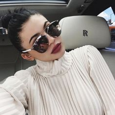 #9: Kylie Jenner - No stranger to the selfie game, Kylie beats out her big sister by 1 spot.