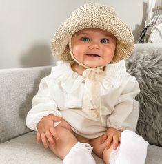 Straw Summer Hat - Beige / One Size - Adjustable