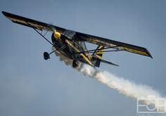 Decathlon, Air Show, Planes, Fighter Jets, Aviation, Champion, Aircraft, Military, Smoke
