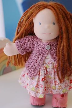 free pattern - I want to try this for Kait's Cabbage Patch dolls.
