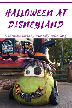 Want to visit Disneyland during Halloween? This complete guide tells you everything you need to know. #Disneyland #DisneylandHalloween #halloween #DCA #Familytravel Disney Vacation Club, Disney Vacation Planning, Disney Travel, Disney Cruise Line, Disney Vacations, Trip Planning, Disneyland Halloween, Disneyland Tips, Disney Tips