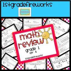 Math Review..4th Quarter Assessments