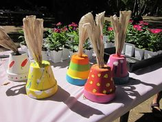 OnSugar Blog: Fun Garden Activity For a Birthday Party or Mother's Day