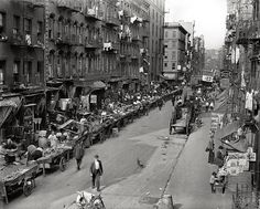Mulberry Street, Little Italy, NYC, 1905