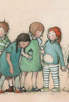 Freya Blackwood, illustration detail
