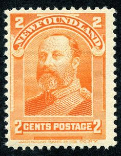 Newfoundland Scott 81 Stamp MH-Edward VII as Prince of Wales Stamp-British North America BNA Stamp-Mint Newfoundland 81 stamp for sale Postage Stamp Art, Vintage Stamps, Prince Of Wales, Penny Black, Stamp Collecting, Newfoundland, American History, Artwork, British
