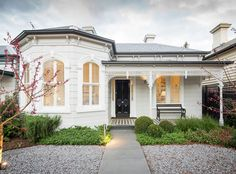 Mitsuori Architects have transformed a compact heritage Victorian home into a large contemporary family home.