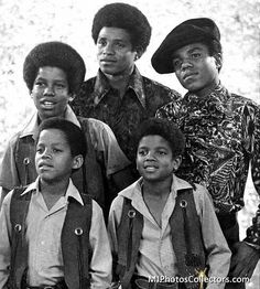 Jackson 5 - 1969  - Cuteness in black and white ღ  by ⊰@carlamartinsmj⊱