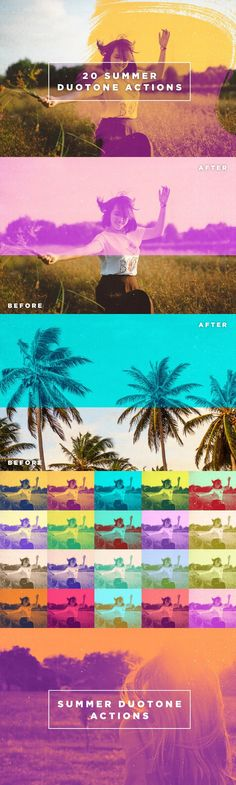 20 Summer Duotone Photoshop Actions. Actions. $13.00