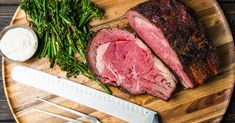 Slow Smoked and Roasted Prime Rib