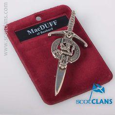 MacDuff Clan Crest K