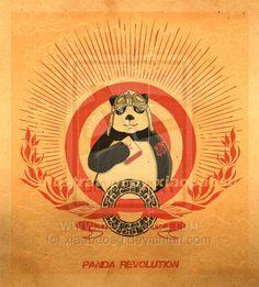Panda Revolution by xiaobaosg.deviantart.com on @deviantART