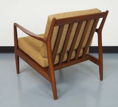 Mid-Century Lounge Chairs by Folke Ohlsson   From a unique collection of antique and modern lounge chairs at https://www.1stdibs.com/furniture/seating/lounge-chairs/