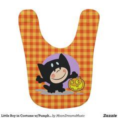 Little Boy in Costume w/Pumpkin Orange Gingham Bib  http://www.zazzle.com/little_boy_in_costume_w_pumpkin_orange_gingham_bib-256411117917148226?rf=238588924226571373